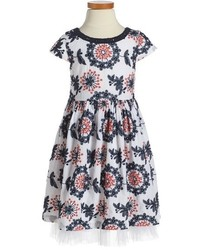 Ruby & Bloom Freida Embroidered Dress