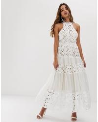 Forever U High Neck Led Dress