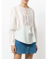 c722ce284e0555 ... White Embroidered Peasant Blouses Tory Burch Marissa Top Tory Burch Marissa  Top ...