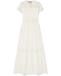Paul & Joe Salerna Ed Embroidered Cotton Maxi Dress