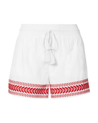 J.Crew Embroidered Cotton Voile Shorts