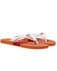 Orlebar Brown Haston Colour Block Rubber Flip Flops
