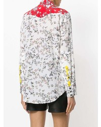 Rag & Bone Micro Floral Western Shirt