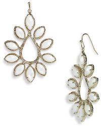 Nyla large teardrop floral earrings medium 215453