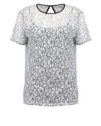 Michael Kors Print T Shirt Ecru
