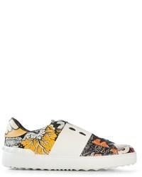 Valentino Garavani Open Floral Sneakers