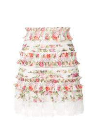 Watermelon bouquet ruffled mini skirt medium 7976061