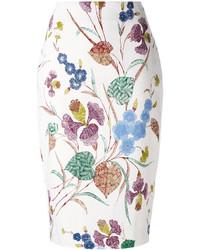 Floral pencil skirt medium 3674540