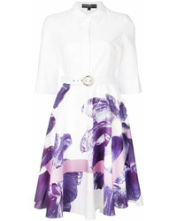 Salvatore Ferragamo Floral Shirt Dress