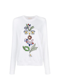 Tory Burch Floral Sweatshirt
