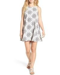 Reve illusorie floral print swing dress medium 698172