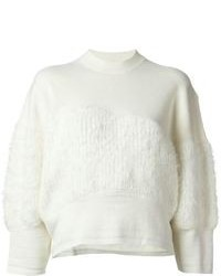 Multi textured jumper medium 95236