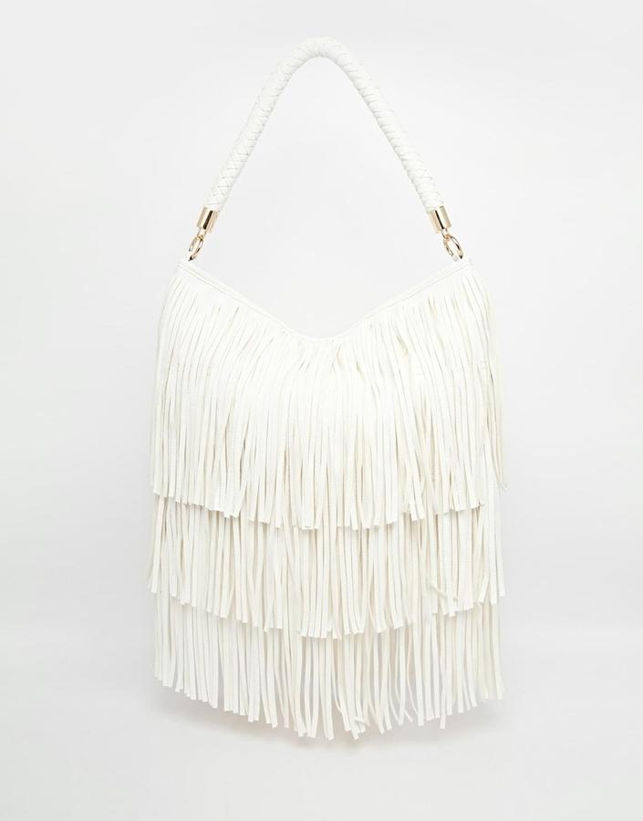 Collection Fringe Shoulder Bag