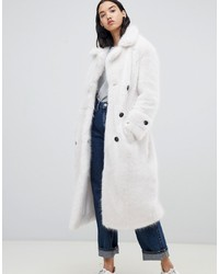 Urbancode Fendora Faux Fur Trench Coat