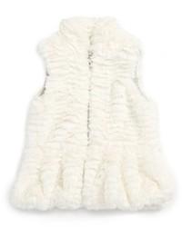 Splendid Infant Girls Faux Fur Vest