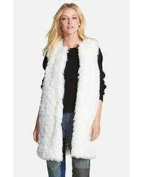 MICHAEL Michael Kors Michl Michl Kors Long Faux Fur Vest