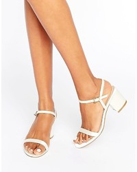 Asos Honeycomb Heeled Sandals