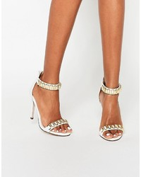 Hoop heeled sandals medium 748201
