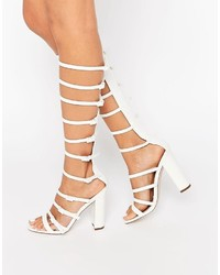 Asos Hotfoot Heeled Sandals