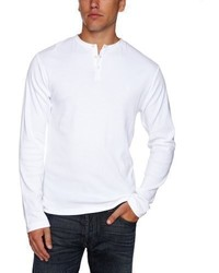 French Connection Henleys Crew Neck Long Sleeve Tee