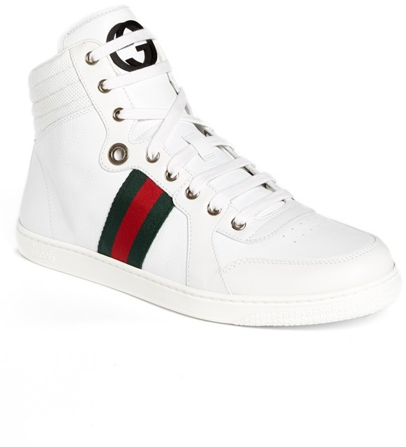 6d638b3f1 Gucci Coda High Top Sneaker, £472 | Nordstrom | Lookastic UK