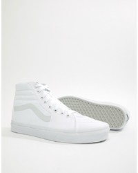 Vans Sk8 Hi Trainers In White Vn000d5iw001