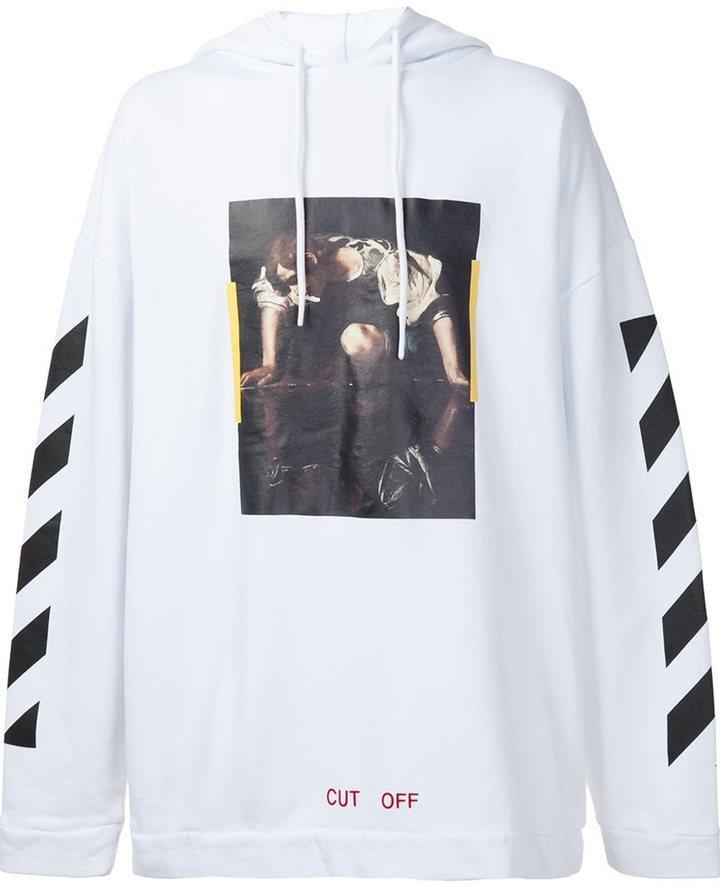 fcf6e713392 Off-White Narciso Hoodie, £443   farfetch.com   Lookastic UK