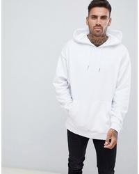 ASOS DESIGN Oversized Hoodie In White