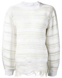 Faustine Steinmetz Striped Crew Neck Sweater