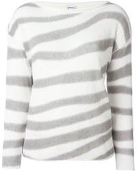 Armani Collezioni Striped Jumper