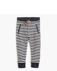 J.Crew Girls Striped Sweatpant