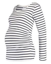 Long sleeved top blackoff white medium 4255789