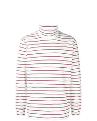 MSGM Striped Turtleneck Sweater