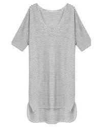 Mango Kendal Print T Shirt Off White