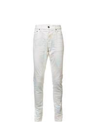 John Elliott Creased Slim Fit Jeans
