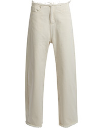 MARQUES ALMEIDA Marquesalmeida Frayed Edge Wide Leg Jeans