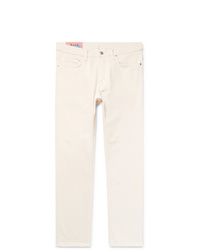 Acne Studios River Cropped Tapered Slim Fit Denim Jeans