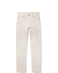 Beams Plus Slim Fit Cotton Trousers