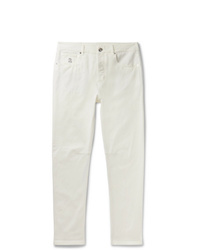 Brunello Cucinelli Slim Fit Denim Jeans