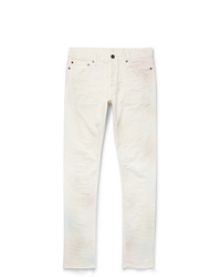 John Elliott The Cast 2 Slim Fit Distressed Denim Jeans