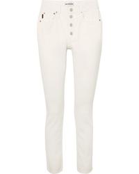 Balenciaga Tube High Rise Straight Leg Jeans