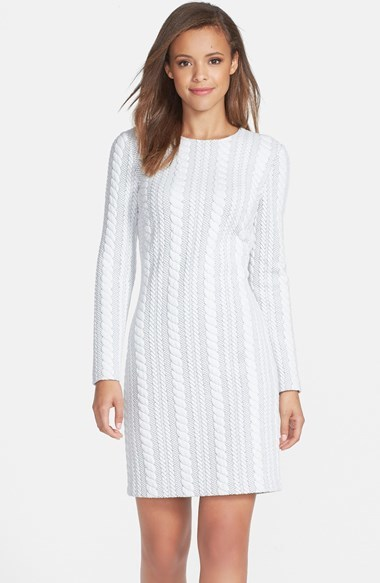 Maia Cable Knit Sweater Dress Where To Buy How To Wear