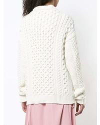 0dc1b97e392b57 ... JW Anderson Oversized Chunky Knit Sweater ...