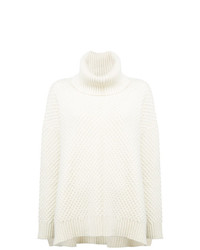 Adam Lippes Roll Neck Oversized Jumper