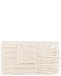 Jewelled bow chunky knit scarf medium 4355790
