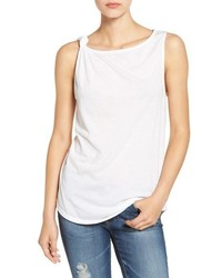 Splendid Knot Shoulder Knit Tank