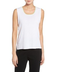Ming Wang Ming Want Tipped Knit Tank