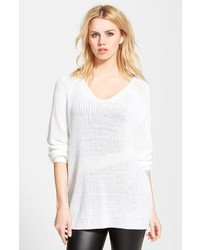 White Knit Tunic