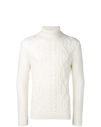 Tagliatore Cable Knit Turtleneck Jumper