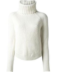 Thick ribbed sweater medium 108865